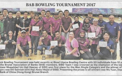 BAB Bowling Tournament 2017