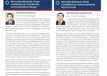 Asean Banker Newsletter Aug / Sept 2018