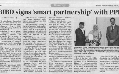 Clipping May 25 BIBD signs smart partnership with PPB
