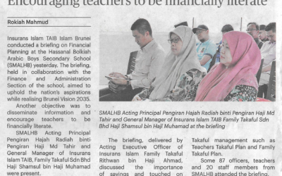 Encouraging Teachers to be financially Literate