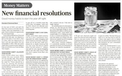 SCB – 14 Jan 2021 New financial resolutions