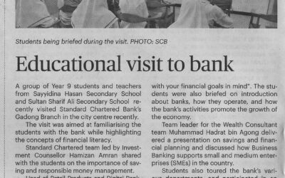 SCB 17 Apr 2021 – Educational visit to bank