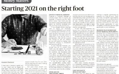 SCB – 7 Jan 2021 Starting 2021 on the right foot